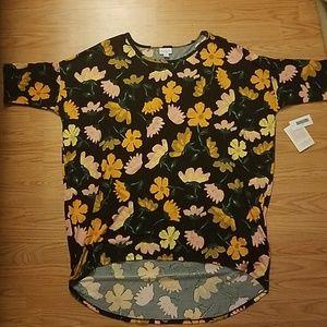 Lularoe Irma Flower Tunic